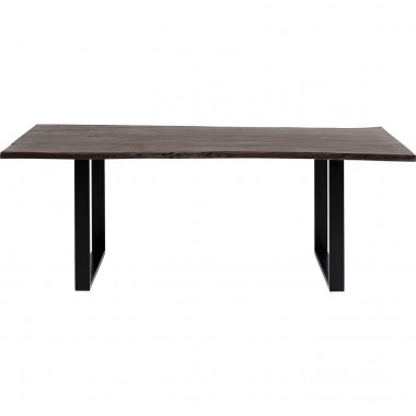 Table Harmony Walnut Black 180x90cm Kare Design