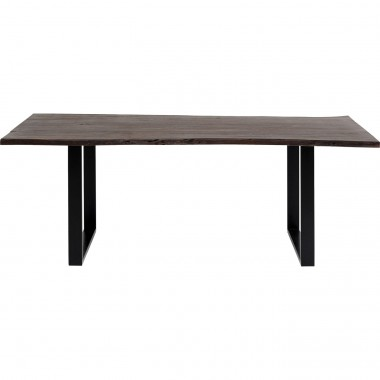 Table Harmony Walnut Black 160x80cm Kare Design