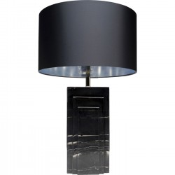 Table Lamp Rumba Marble Black Kare Design