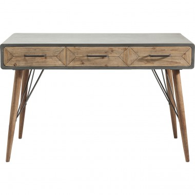 Desk X Factory 3 Drw 120x60cm Kare Design