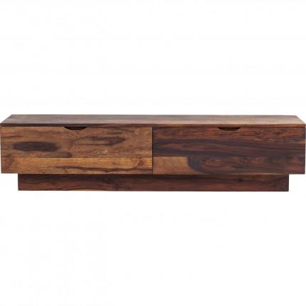 Meuble TV bas en bois Authentico Kare Design