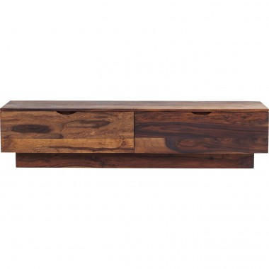 Meuble TV bas en bois Authentico Kare Design