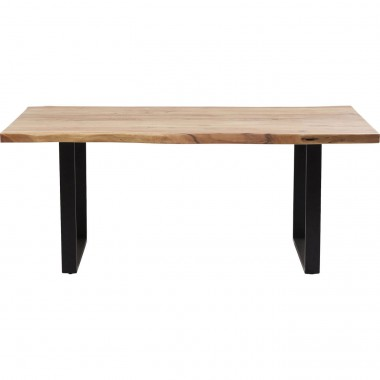 Table Black Nature 180x90cm Kare Design