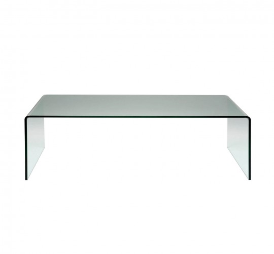 Coffee Table Clear Club Basic 120x60cm Kare Design