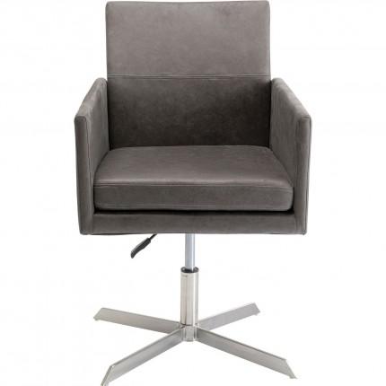 Chaise pivotante New York gris