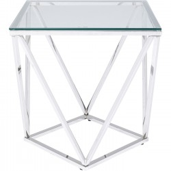 Table d appoint Cristallo 50x50cm
