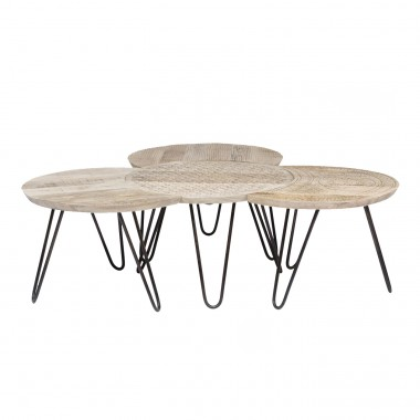 Coffee Table Puro (4/Set) Kare Design