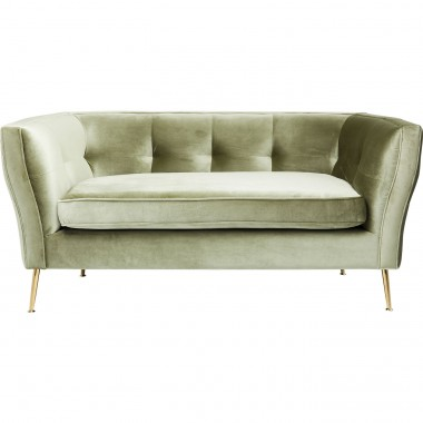 Sofa Rimini Green 2-Seater 160cm Kare Design