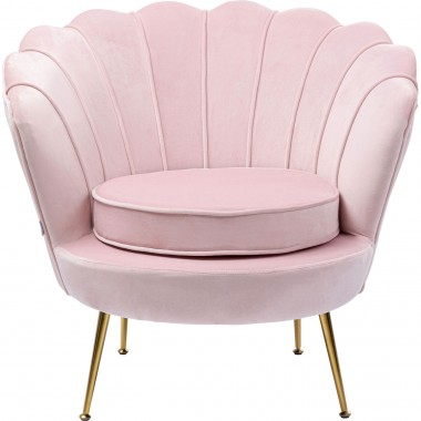 Fauteuil Water Lily rosé