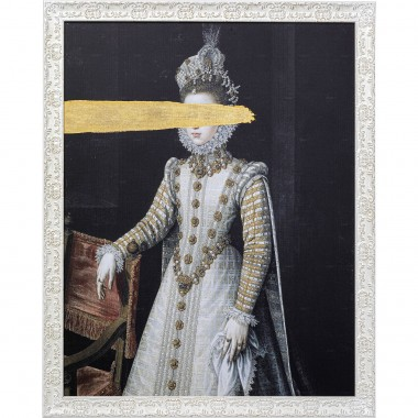 Oil Painting Frame Incognito Baroness 100x80cm