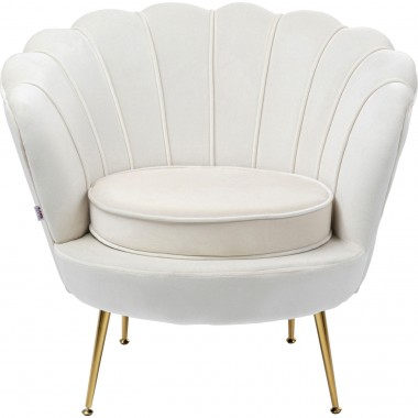 Fauteuil Water Lily beige