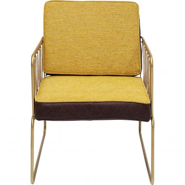 Arm Chair String Yellow Kare Design