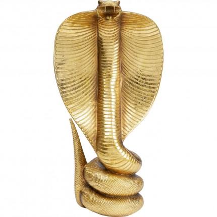 Objet décoratif Cobra Gold 41cm