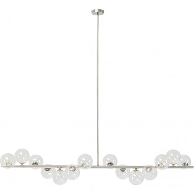 Suspension Scala Balls chromé 150cm