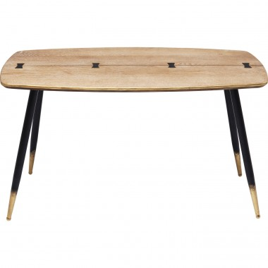 Table basse Art Deco 80x40cm