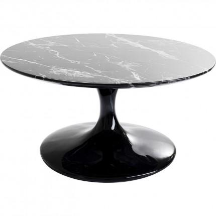 Salontafel Solo Marble Black 90cm Kare Design
