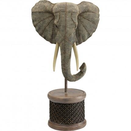 Déco tête éléphant 76cm Kare Design