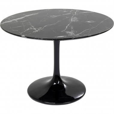 Table Solo Marble noir Ø 110cm