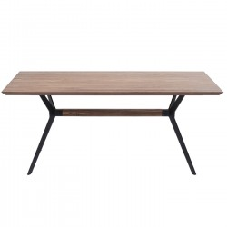 Table Downtown noyer 180x90cm