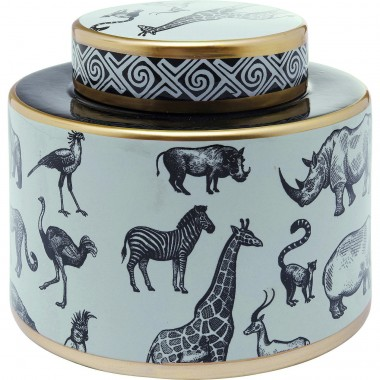 Deco Jar Animals 17cm Kare Design