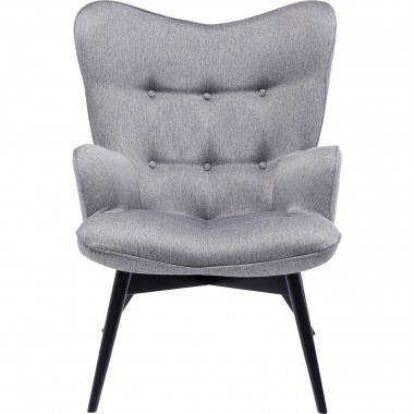 Fauteuil Vicky Loco gris
