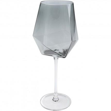 Verre à vin Diamond Smoke