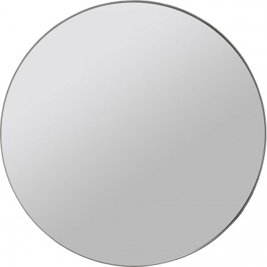 Miroir Curvy MO look chrome Ø100