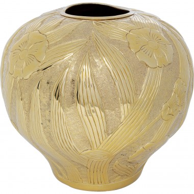 Vase Victoria Belly doré 34