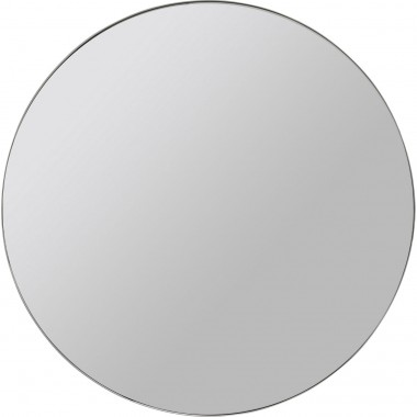Miroir Curvy look chrome Ø60