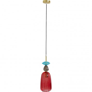 Suspension Goblet Colore Uno rouge