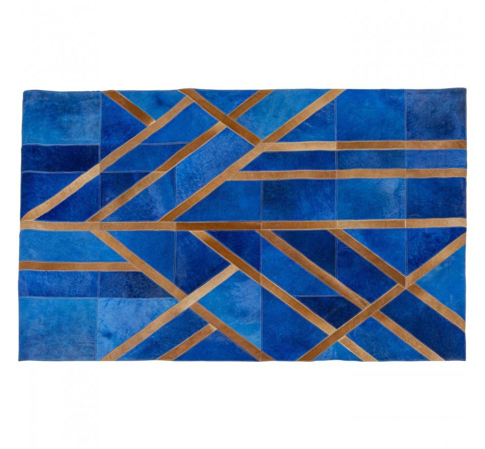 Tapis Lines bleu 170x240