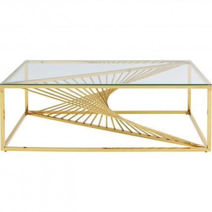 Salontafel Laser Gouden 120x60cm Kare Design