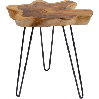 Table d appoint Aspen nature 50x50