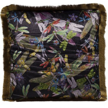 Cushion Tropical Garden Fringe 45x45cm Kare Design