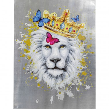 Tableau Touched King of Lion 120x90