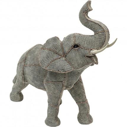 Objet décoratif Walking Elephant Pearls GM