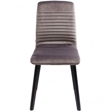 Chair Lara Velvet Silver Kare Design