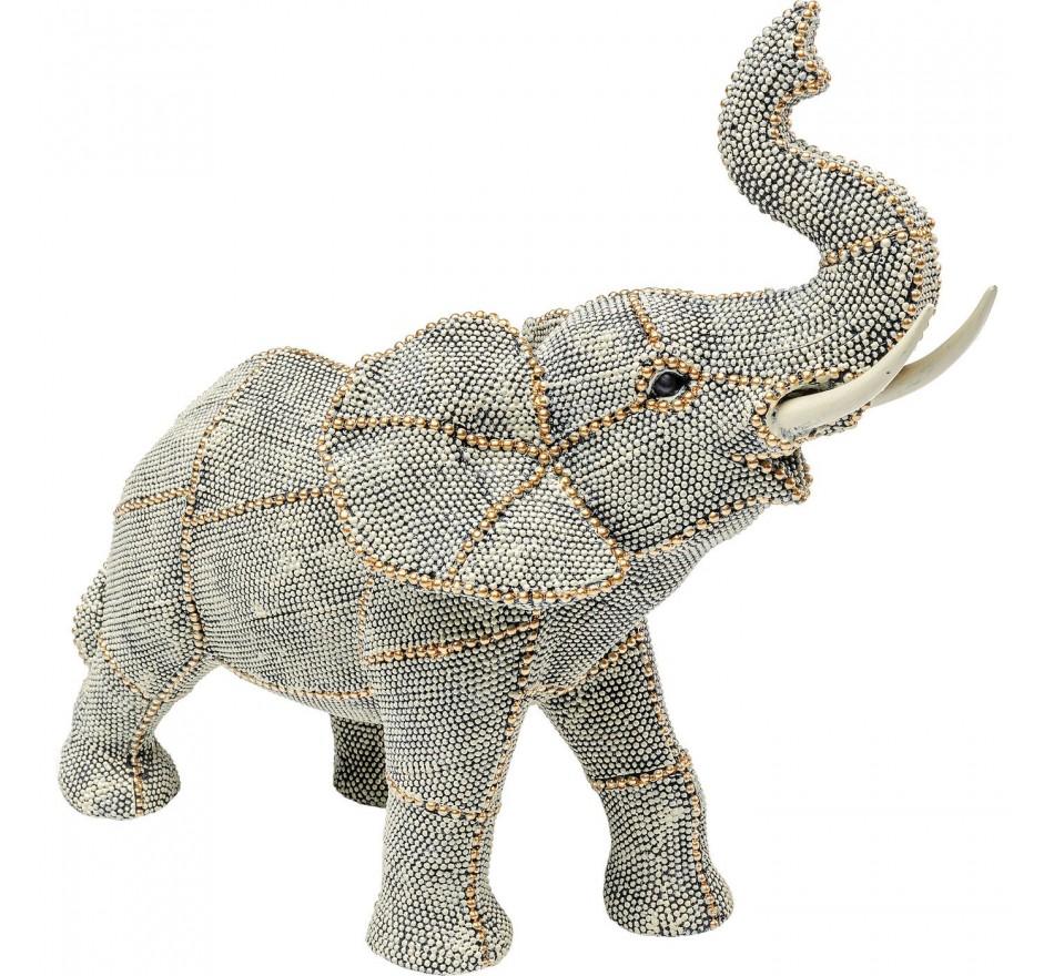 Objet décoratif Walking Elephant Pearls PM