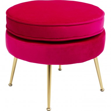 Tabouret  Water Lily fuchsia