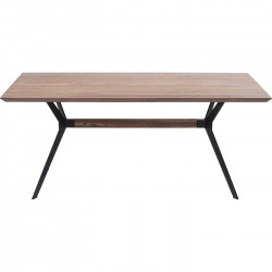 Eettafel Downtown Walnoot 220x100cm Kare Design
