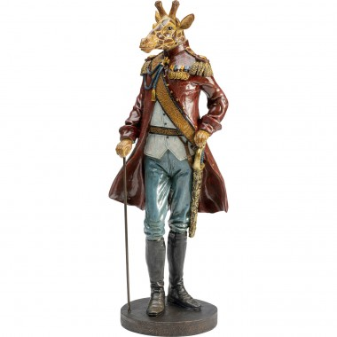 Figurine décorative Sir Giraffe Standing