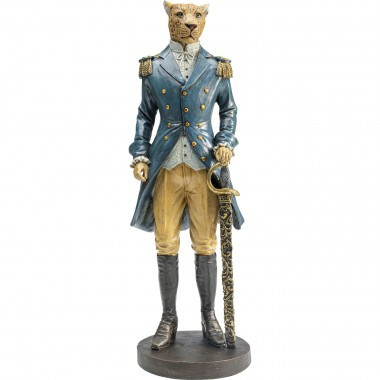 Figurine décorative Sir Leopard Standing