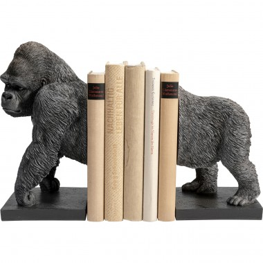 Serre-livres Gorilla orange (2/set)