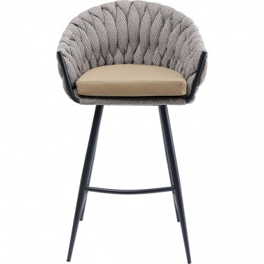 Tabouret de bar Knot Tweed