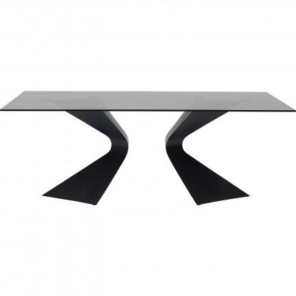 Table Gloria Black 200x100cm Kare Design