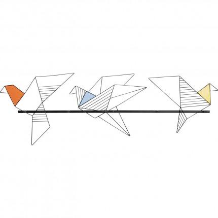 Garderobe murale Origami Bird 114cm