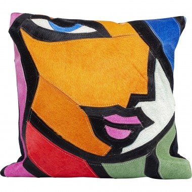 Coussin Abstract Lady Face 40x40cm