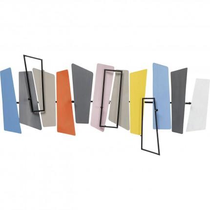Garderobe murale Abstract Xylophone 80cm