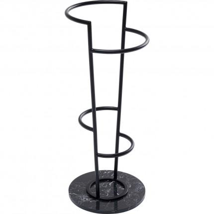 Paraplubak zwart marmeren Kare Design