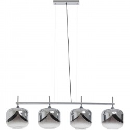 Hanging Lamp  Chrome Goblet Quattro  Ø25cm Kare Design